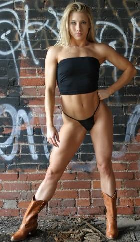 Jen Cook IFBB Fitness Pro